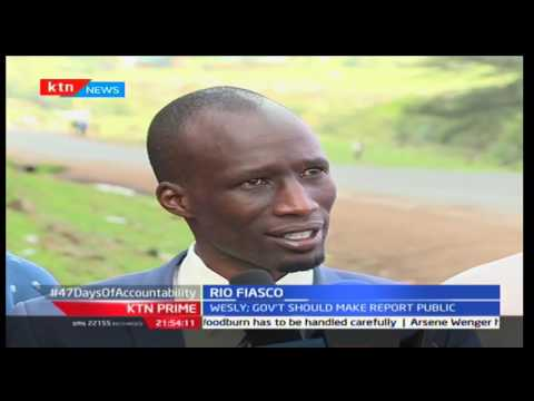 Cherangany' MP Wesley Korir denies of claims that he wasn't fit for Rio Olympics