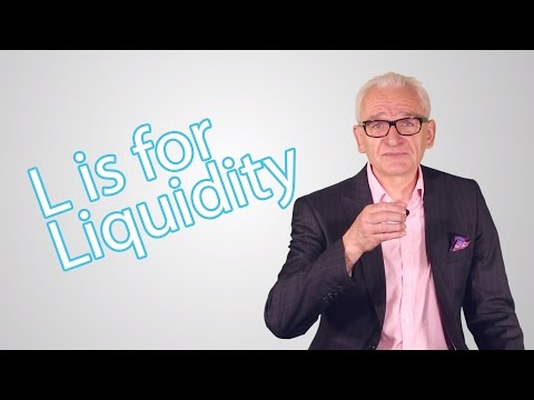 L is for Liquidity - The Elite Investor Club's A - Z Guide of Investing