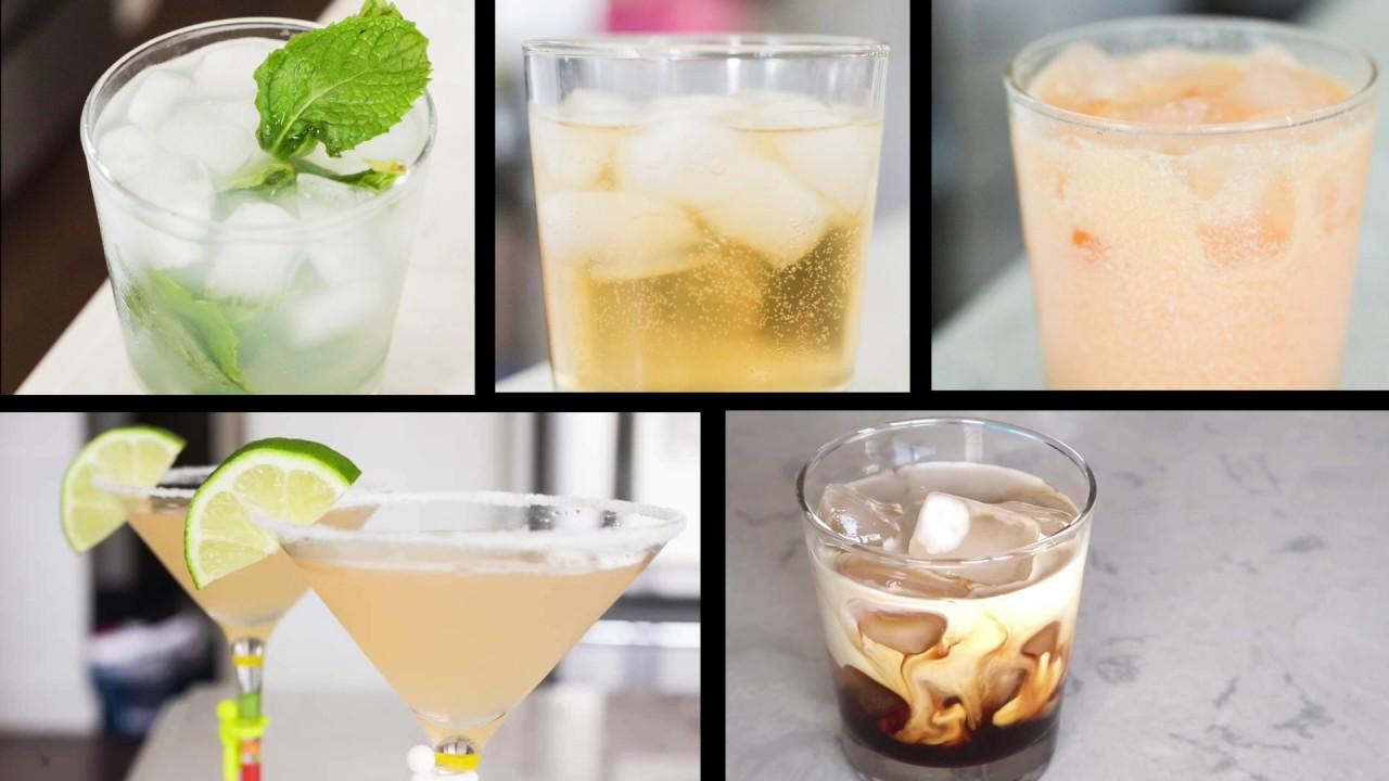 5 KETO ALCOHOLIC DRINKS FOR SUMMER