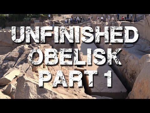 Unfinished Obelisk, Aswan, Egypt, Part 1