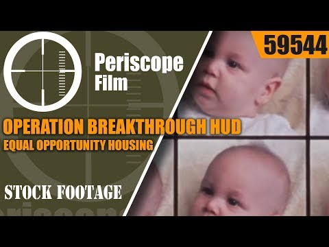 OPERATION BREAKTHROUGH    HUD EQUAL OPPORTUNITY HOUSING 59544  CF