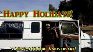 Merry Christmas!  3 Years of VanLife On YouTube
