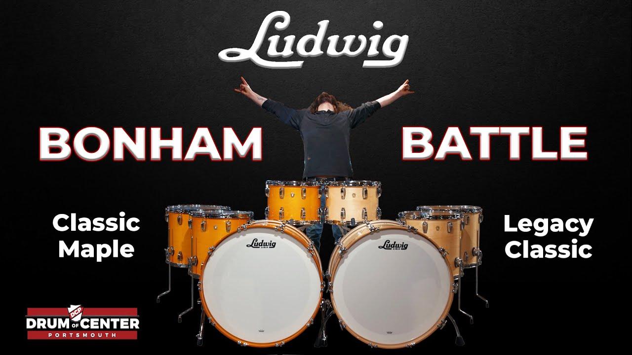 Download Ludwig Bonham Drum Set BATTLE - Classic Maple vs. Legacy Classic