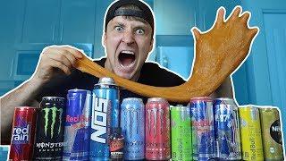 INSANE EDIBLE ENERGY DRINK SLIME!! (DO NOT ATTEMPT)
