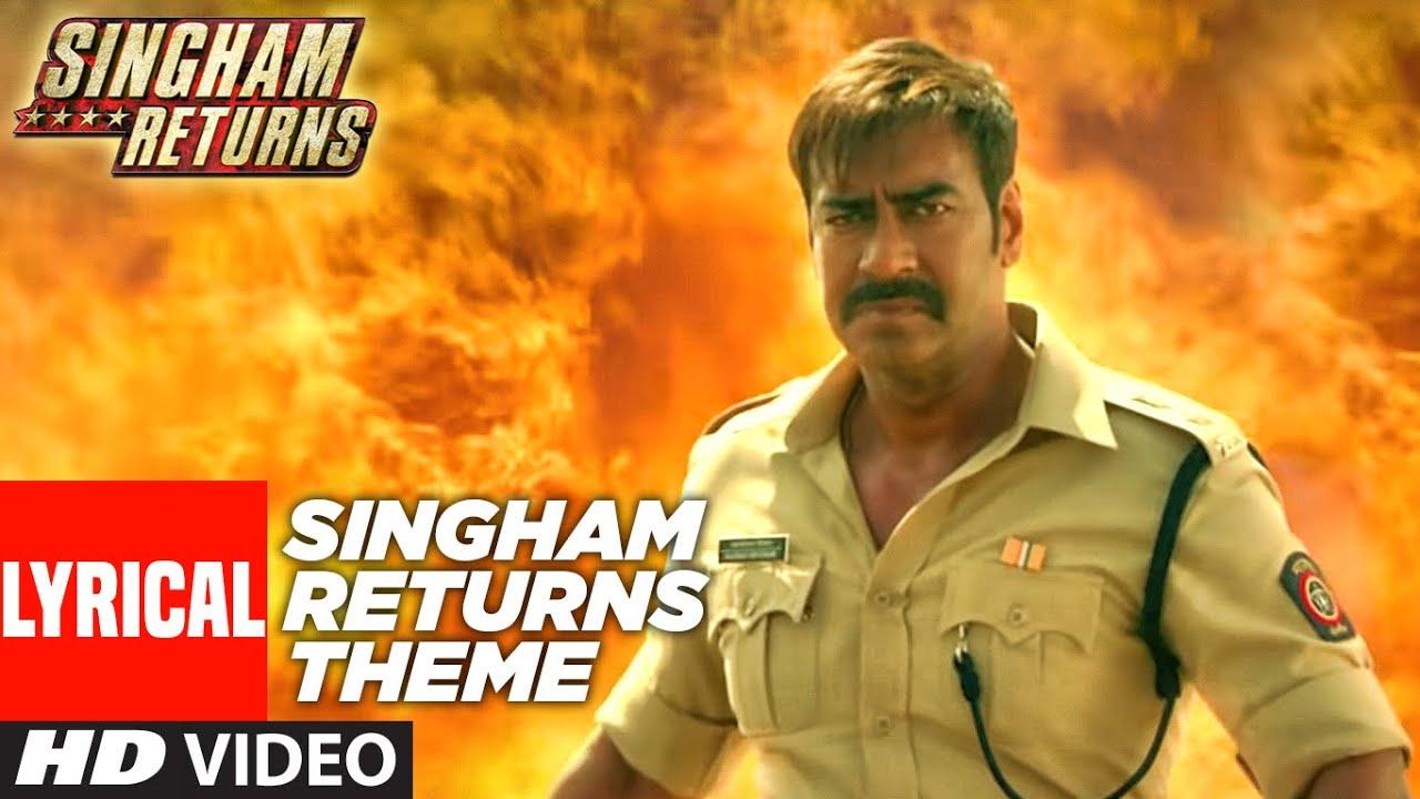 Singham Returns Theme(Lyrical) | Meet Bros Anjjan feat. Mika Singh | Ajay Devgn, Kareena Kapoor