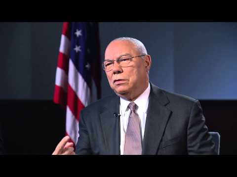 Colin Powell talks with CCTV about US-China relations