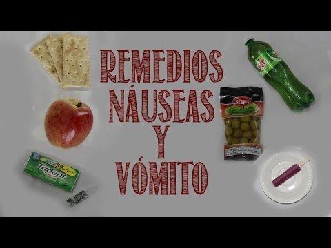 que comer para las nauseas y vomitos
