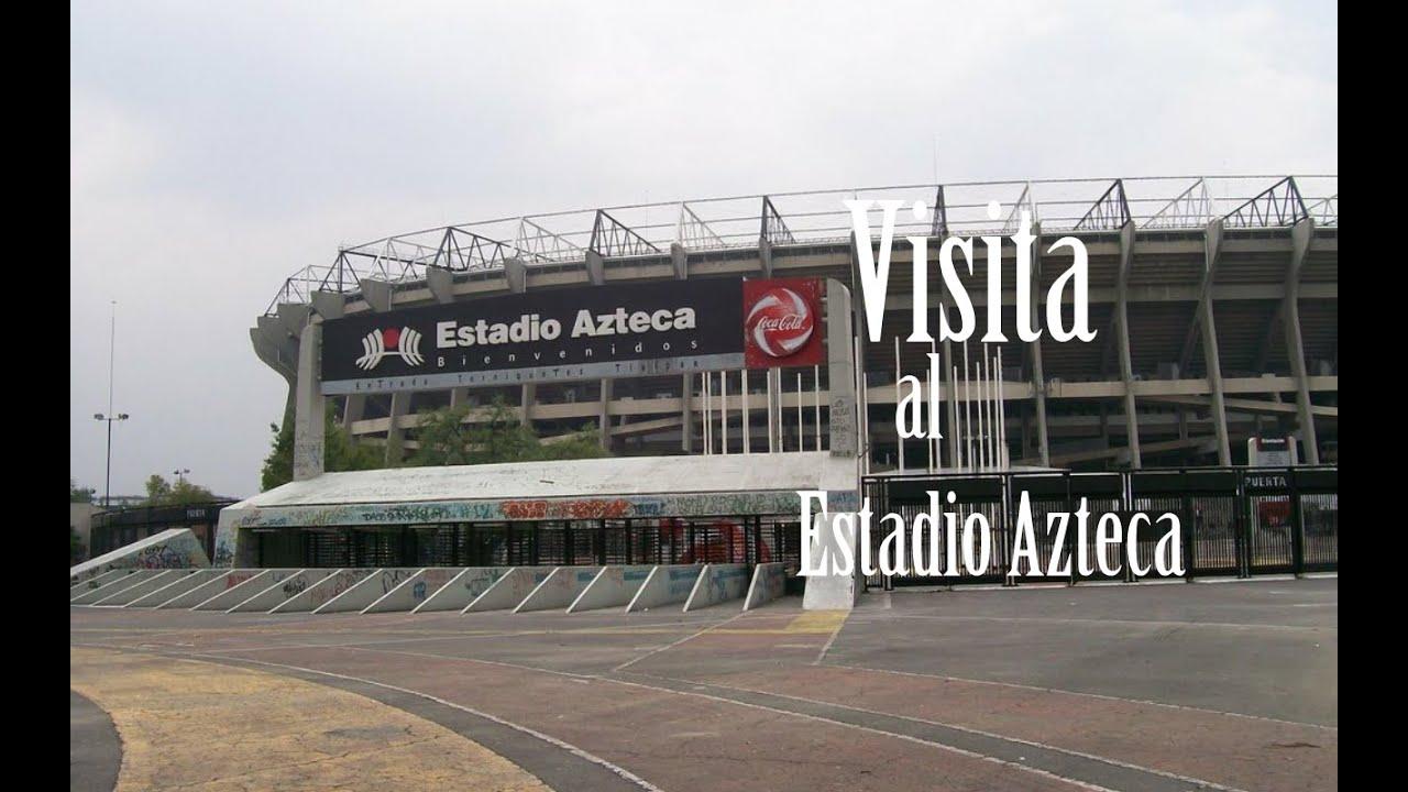 Visita al estadio azteca youtube for Puerta 1 estadio azteca