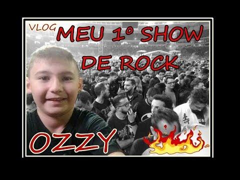SHOW DO OZZY 2018- Meu primeiro show de rock