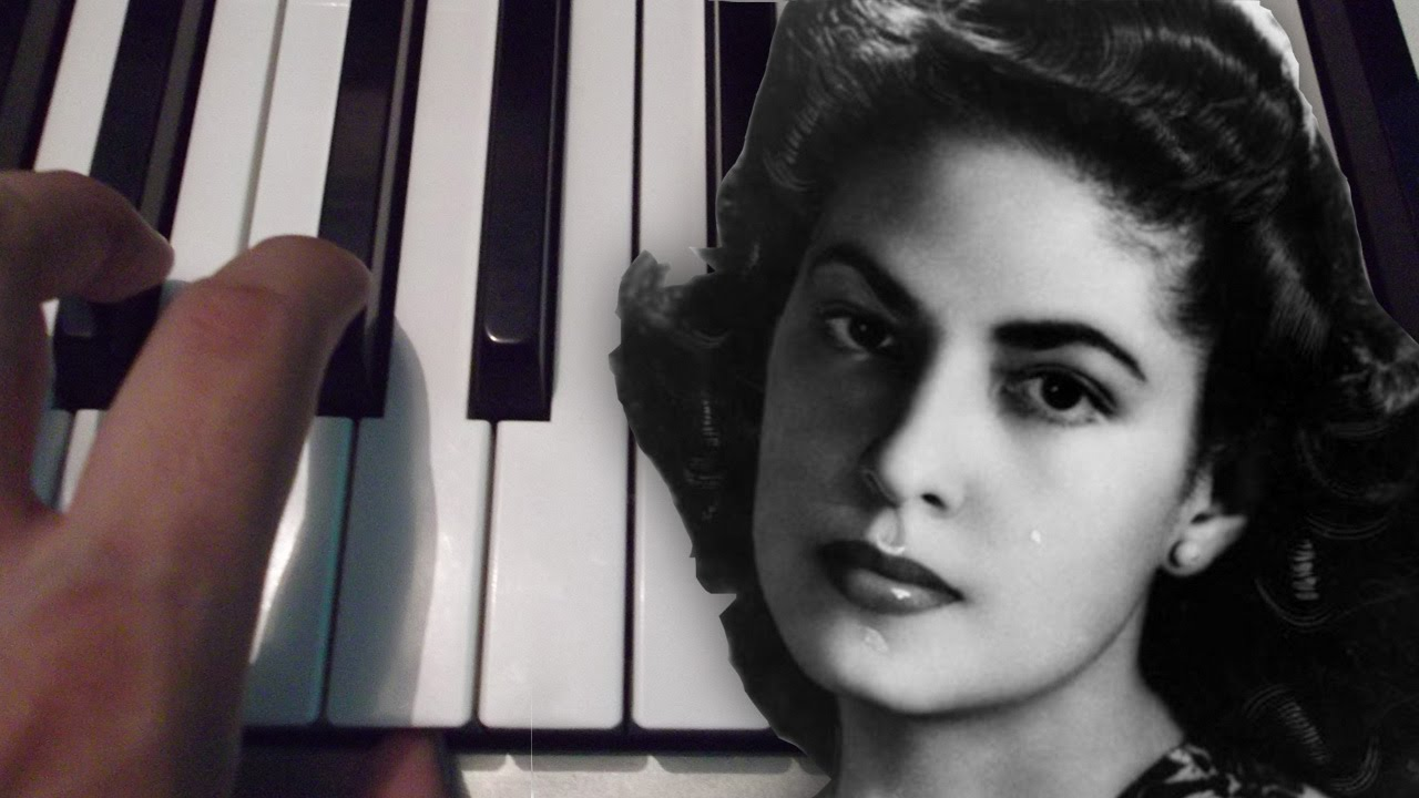 Consuelo Velazquez Besame Mucho Consuelo Velazquez Piano Tutorial YouTube