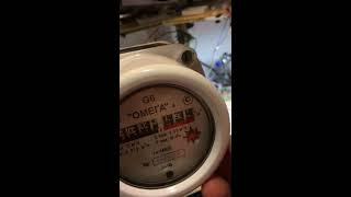 Как остановить счетчик газа ОМЕГА G-6(штрафы-стоп.рф 8-800-250-11-97., 2016-01-18T20:13:18.000Z)