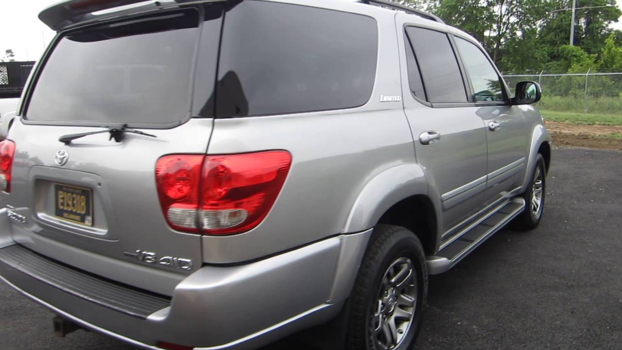 2007 toyota sequoia limited 4x4 sold