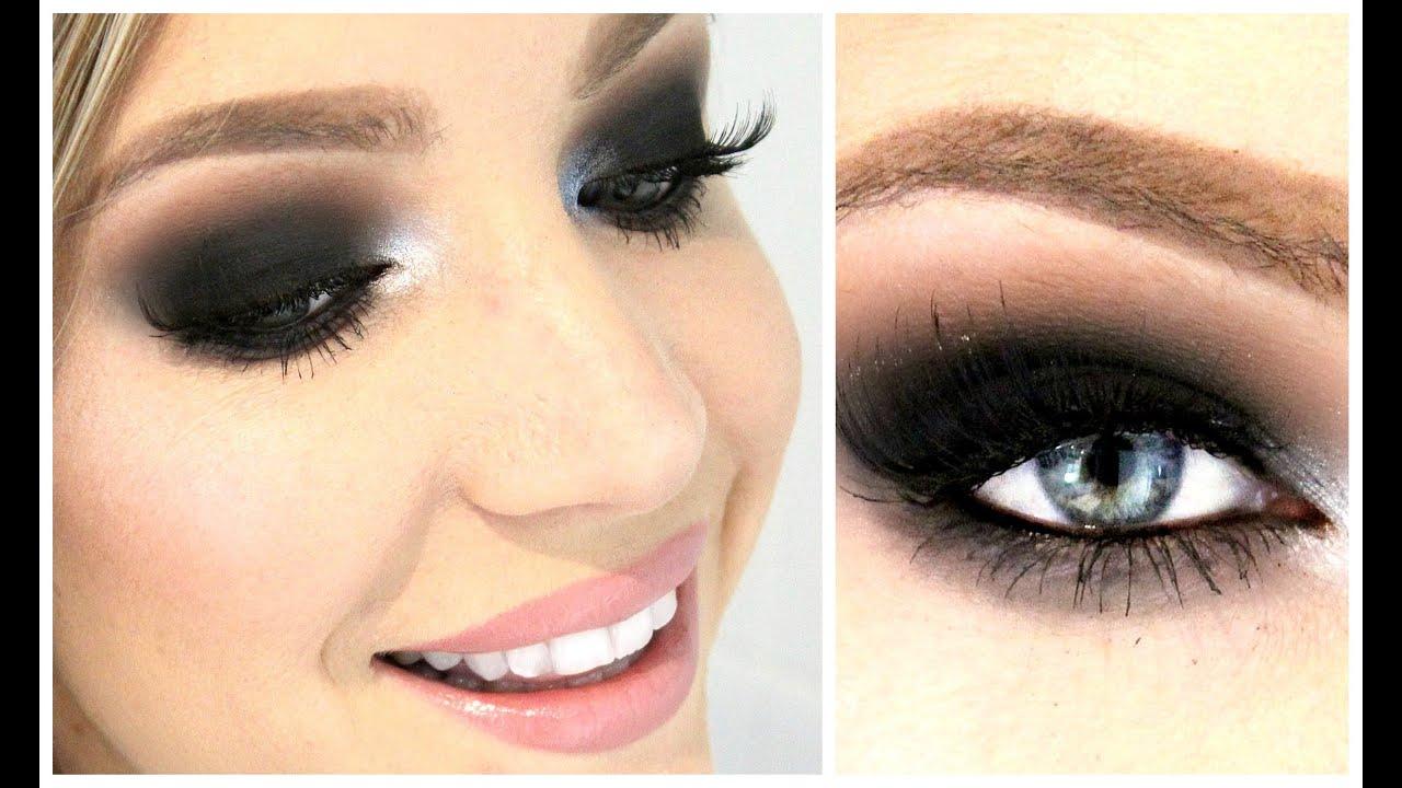 brown smoky eyes (perfect for hooded eyes) - tutorial ! | stephanie lange