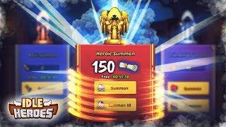 ️ IDLE HEROES #S366 ️ 150 HEROIC SUMMON NA 1 ODCINKU