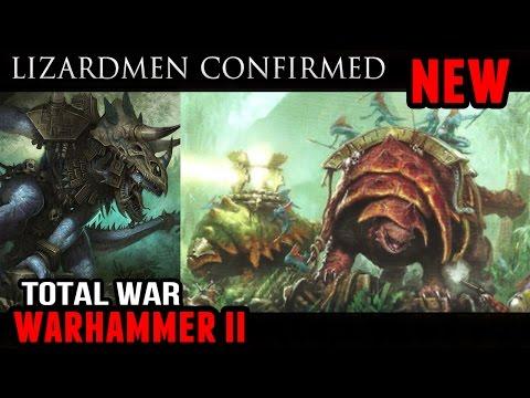 Total War: Warhammer 2 - The New World (Lizardmen confirmed!)