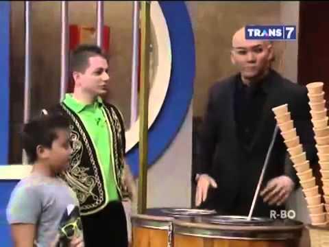 Hitam Putih trans7 TV - turkish magic icecream 1