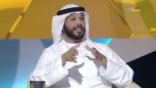 لقاء مع مروان بن غليطة رئيس اتحاد الإمارات لكرة القدم
