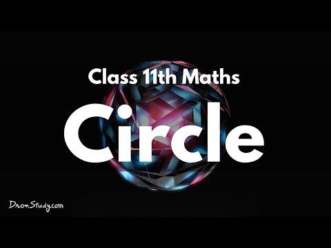Circle: Class 11 XI | IIT-JEE | Mathematics | Video Lecture in hindi