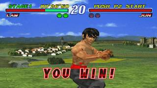 Tekken 2 (PC via epsxe 2.0.5 emulator) - 720p 60fps Capture Test