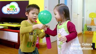 Xavi ABCKids and Learn Colors with Balloons