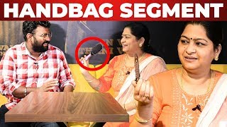 Meera Krishnan Handbag Secrets Revealed by VJ Ashiq | What's Inside the HANDBAG