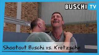 Kretzsche vs. Buschi | Das ultimative Basketball-Shootout | Buschi.TV
