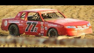 IMCA Stock Car #77x At Rocky Hill Speedway Part 2 7-11-15