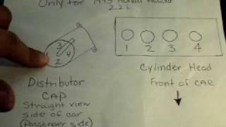 1993 HONDA ACCORD 2.2 L FIRING DIAGRAM - YouTube | Spark Plug Wiring Diagram 1993 Honda Accord |  | YouTube