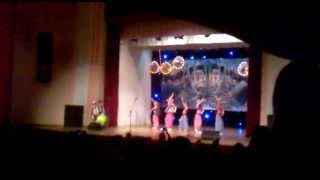 Івано-Франківськ, філармонія, дитячий танець, 2013