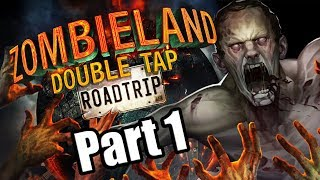 Zombieland: Double Tap - Road Trip (2019) Switch Gameplay Walkthrough Part 1 (No Commentary)