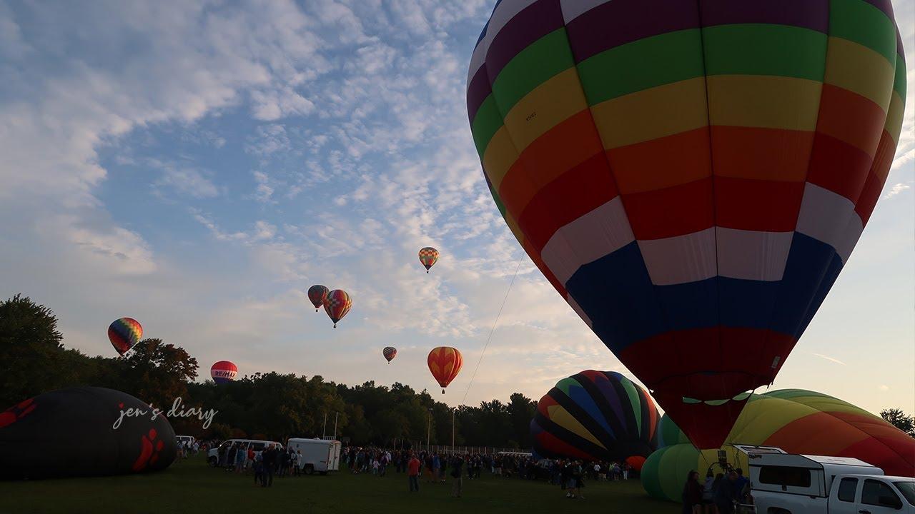 Hot Air Balloon Festival 2018 Plainville, CT
