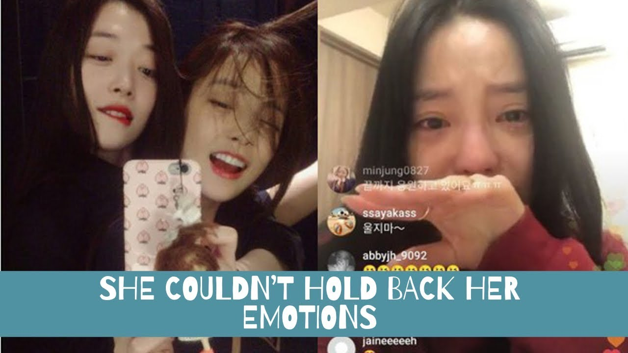 Download Goo Hara Cried During The Livestream, Left A Message For Sulli, Kept Appolozing To Her