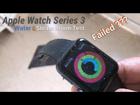 How Water Resistant is the Apple Watch 3 (Real Life)