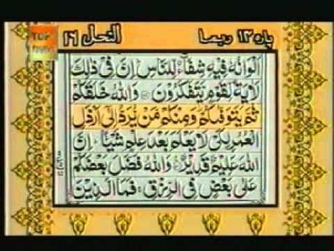 Para 14 - Sheikh Abdur Rehman Sudais and Saood Shuraim - Quran Video with Urdu Translation