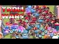 Clash Royale - 35x GIANT SKELETON WAR!! (Giant skeleton Troll wars) Tombstone troll!