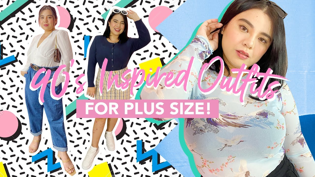 90s Inspired Outfits for Plus Size! (TRENDY & AFFORDABLE!)   HelenOnFleek