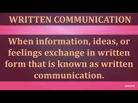 FORMS OF BUSINESS COMMUNICATION
