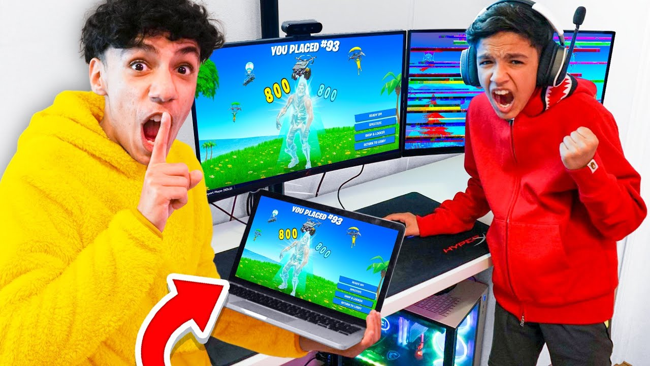 5 Ways to PRANK Your Little Brother in Fortnite!