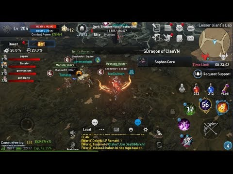 Lineage 2 Revolution Farming Core Live