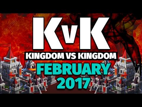 Lords Mobile - February 2017 KvK Highlights -- 12 Million Kills