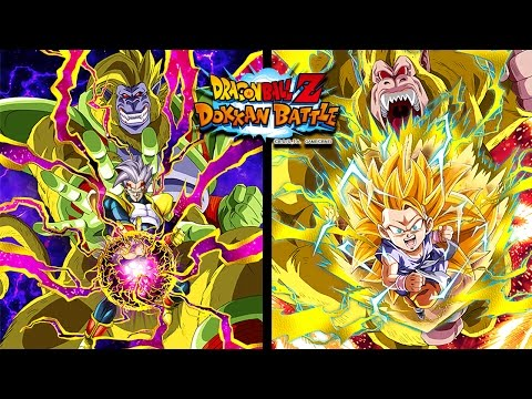 NO MORE MONKEY BUSINESS! Great Ape Team Showcase! DBZ Dokkan Battle! - GOLDEN APES!