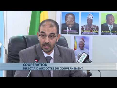 Signature d'accord entre Direct Aid et le gouvernement