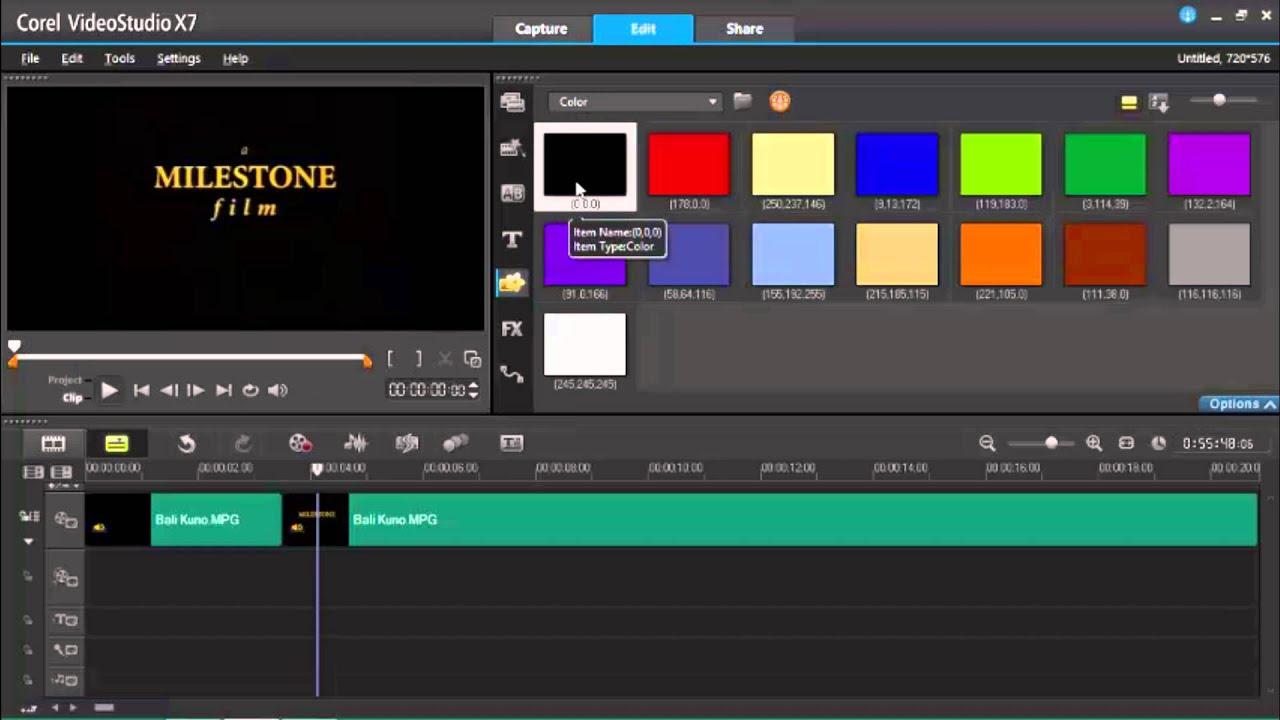 Corel videostudio pro x7 с ключом скачать