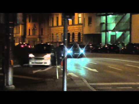 BKA auf Einsatzfahrt im Audi