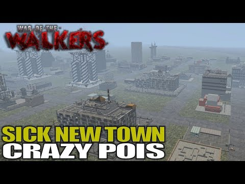 SICK NEW TOWN CRAZY POIS | WotW MOD 7 Days...