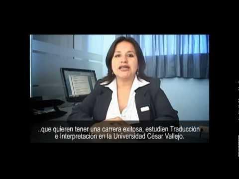 Escuela De Idiomas: Traducción E Interpretación UCV Campus Chiclayo