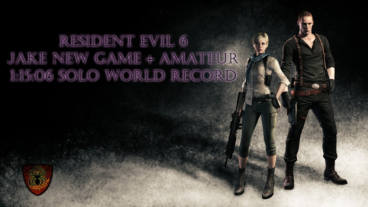 New Game Solo In 1h 15m 06s By Soulless Persona Resident Evil