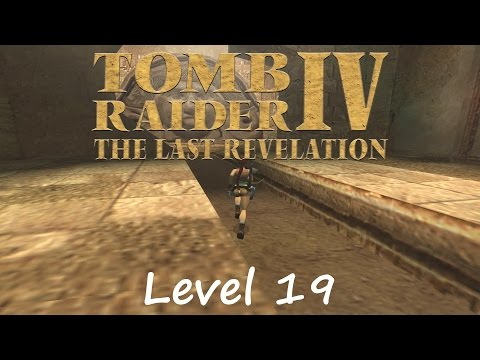 Tomb Raider 4 Walkthrough - Level 19: Temple Of Poseidon |