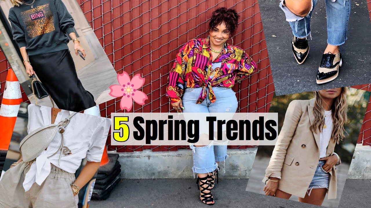 5 Spring Trends I'm Styling! + A BONUS Trend | THRIFT FRIENDLY