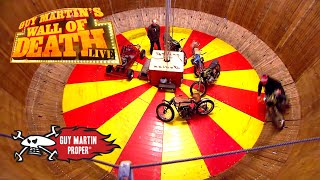 Guy's Wall of Death Training | Guy Martin Proper